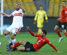 Un derby qui s'est terminé sur un score nul et vierge. AFP