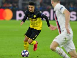 Sancho's time at Dortmund looks it will end soon. AFP