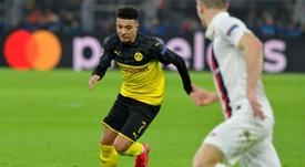 Liverpool laisse le champ libre à United pour Sancho. AFP