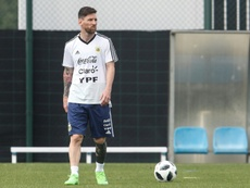 Enquête sur la déclaration de Messi à propose du match contre l'Israël. AFP