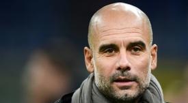 En Inglaterra creen que a Pep le podría pasar como en el Barça. AFP
