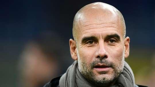 Dúvidas no futuro de Guardiola. AFP
