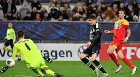 Coupe de France: Bordeaux, petit bras, passe devant Le Mans. AFP