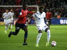 Skov Olsen et Moubandje se rapprochent de la Real Sociedad. AFP