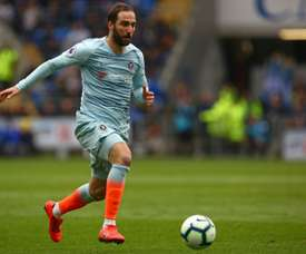 Makalele recently commented on Sarri's decision to choose Higuain ahead of Morata. AFP