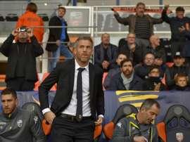 Lorient a gagné 1-0 contre Grenoble. AFP