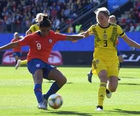 Sembrant et Jakobsson, l'héritage suédois de Montpellier. AFP