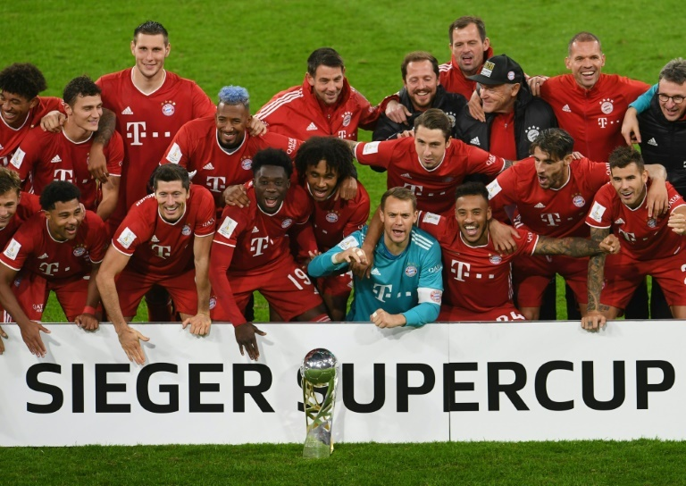 Le Bayern remporte la Supercoupe d'Allemagne, cinquième trophée en 2020