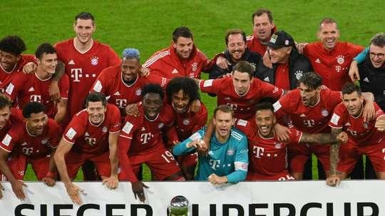 Cinq trophées en 2020 pour le Bayern. AFP