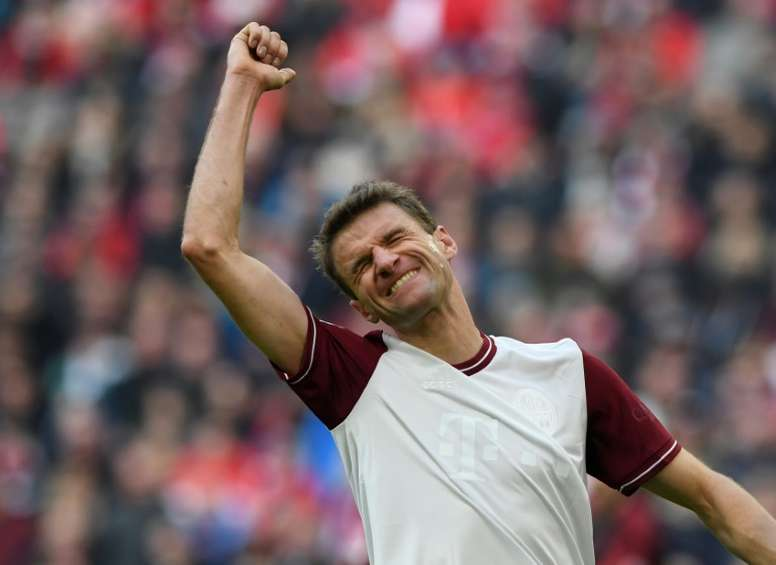 Müller volvió a advertir al Barcelona. AFP