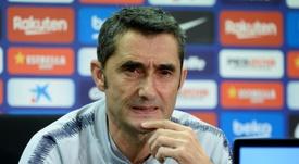 Valverde, sorprendido por el partido de la Cultural. AFP