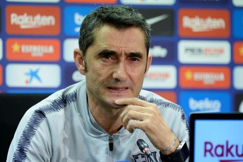 Valverde encense Dembélé. AFP