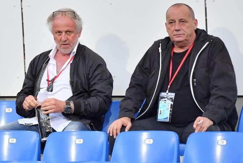 Léon Luciani quitte la présidence de l'AC Ajaccio. AFP