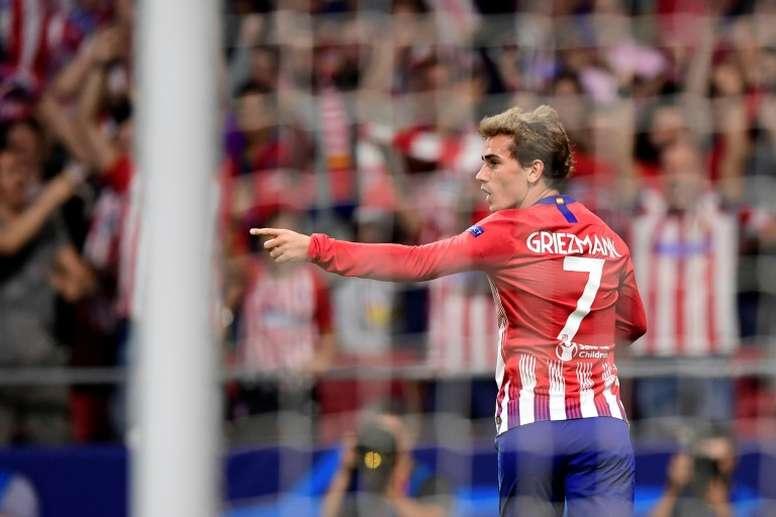 Griezmann volvió a hablar sobre Messi y Cristiano. AFP