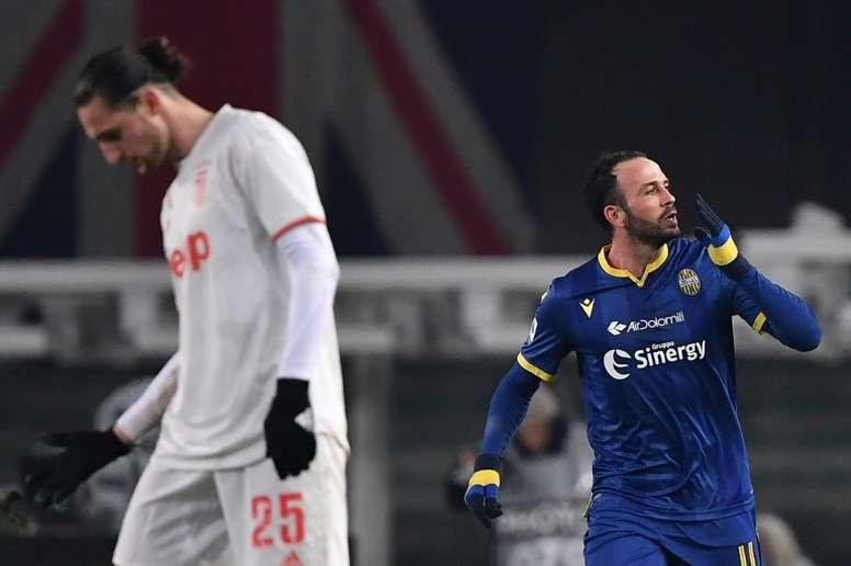 Officiel : Giampaolo Pazzini prend sa retraite. afp