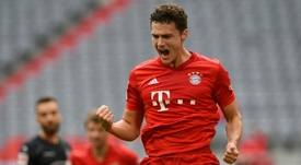 Bayern beat Dusseldorf 5-0. AFP