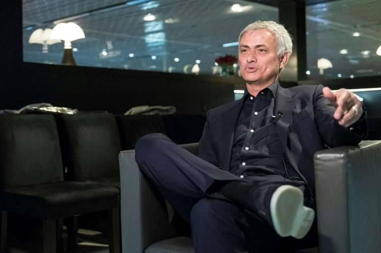 Mourinho spoke of the possibility of working for PSG. AFP