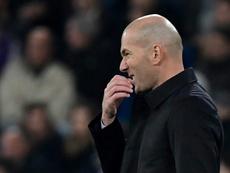 Zidane confesse qu'il aurait aimé participer aux Jeux olympiques. AFP