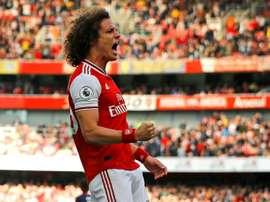 Déjà la fin pour David Luiz à Arsenal ? AFP