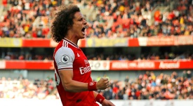 David Luiz renovou com o Arsenal. AFP