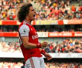 David Luiz révèle où il veut retirer sa révérence. afp