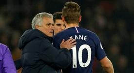 La liste des candidats de Mourinho pour remplacer Harry Kane. AFP