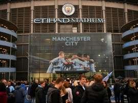 Le propriétaire de Manchester City veut investir. AFP