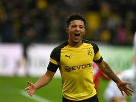 Borussia escolhe o substituto de Jadon Sancho. AFP