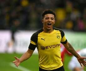Borussia não pensa em fazer desconto por Jadon Sancho. AFP