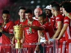 Flick veut retenir Alaba et Thiago Alcantara au Bayern. afp