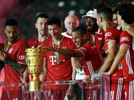 United are going to make a late bid for Thiago. AFP