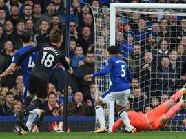 Keane believes Everton have let Ronald Koeman down after their 5-2 defeat to Arsenal. AFP