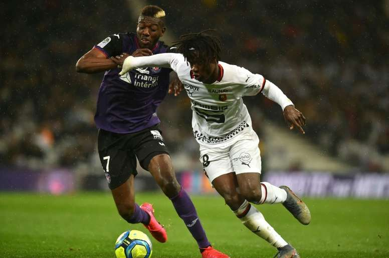 Real Madrid have thought of a way to sign Camavinga. AFP