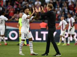 Tuchel will continue playing Neymar despite what happened in the summer. AFP