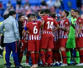 L'Atlético veut définitivement lancer sa saison. AFP