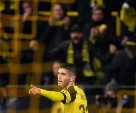 Le milieu de terrain américain de Dortmund Christian Pulisic. AFP