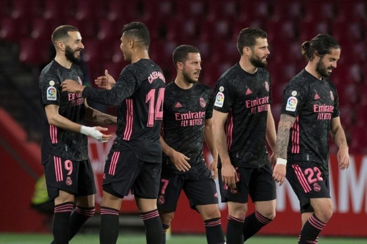 El Madrid rejuvenecerá su plantilla con el Castilla. AFP/Archivo