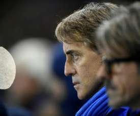 Roberto Mancini lors de la victoire de l'Italie. AFP