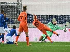 L'Italie accrochée par les Pays-Bas. AFP