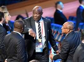 Constant Omari ne peut pas quitter le RDC. AFP