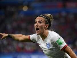 L'Anglaise Lucy Bronze nommée joueuse UEFA de la saison. AFP
