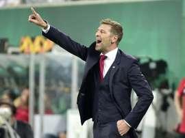 El Spartak vuelve a ganar. AFP