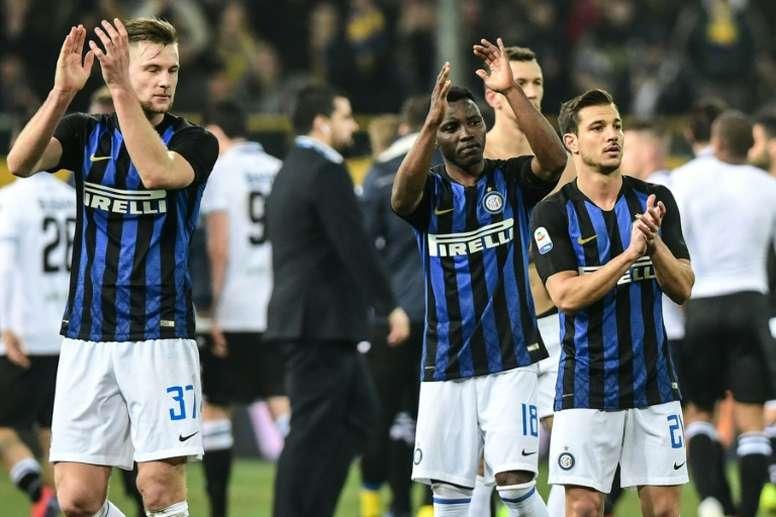 Le programme de la 28ème journée de Serie A. AFP