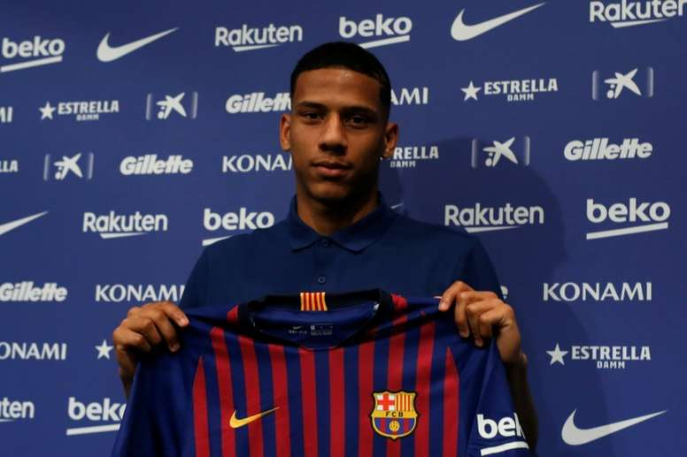 Barca going ahead with their plans to loan out Todibo. AFP