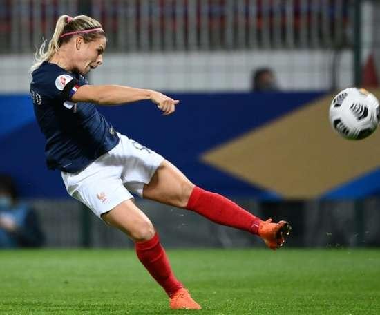 Être sérieuses en Autriche pour la finale du groupe, dit Le Sommer. AFP