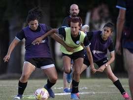 En Argentine, des footballeurs trans ouvrent le chemin de l'intégration. AFP