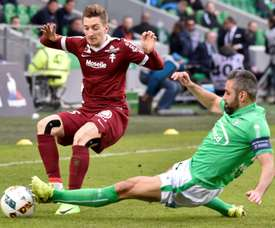 Balliu podría volver al fútbol español. AFP