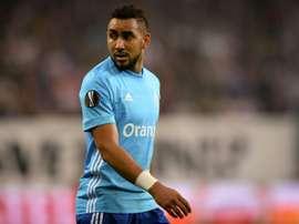 Payet podría perderse la final de la Europa League. AFP