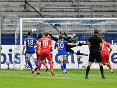 Schalke s'effondre à domicile contre Augsbourg. AFP
