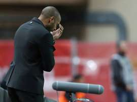 Thierry Henry, tout nouvel entraîneur de l'AS Monaco. AFP